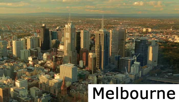 Australian Open Melbourne Bild