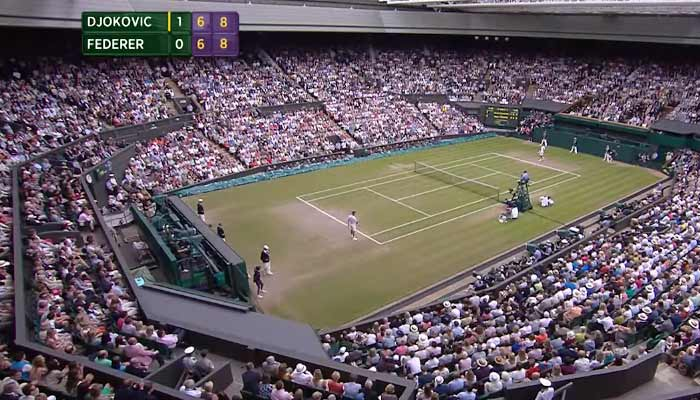 Djokovic Federer Wimbledon Final