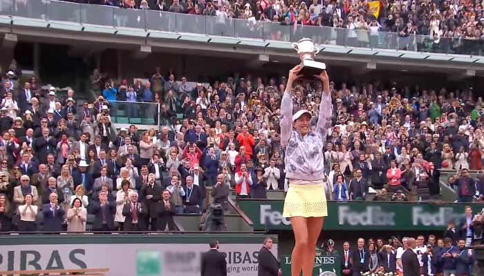 Garbine Muguruza French Open Roland Garros Gewinner